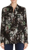 Knot Sisters Shanghai Floral Blouse