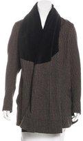 Vivienne Westwood Wool Draped Cardigan