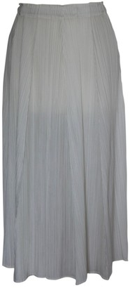 Pleats Please Ecru Polyester Skirts
