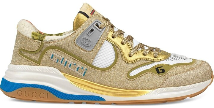 Gucci Gold Women's Sneakers | Shop the