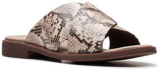 Clarks Collection Women Declan Ivy Flat Sandals Women Shoes