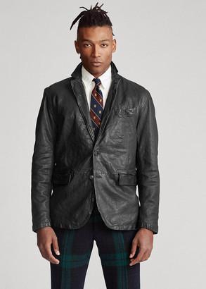 Ralph Lauren Washed Leather Sport Coat