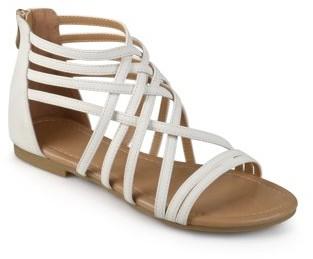 Brinley Co. Womens Strappy Gladiator Flat Sandals