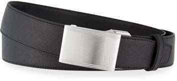 Dunhill Automatic-Buckle Leather Belt