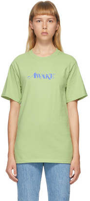 Awake NY Green Logo T-Shirt