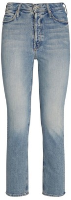 Mother The Button Fly Dazzler Ankle Jeans