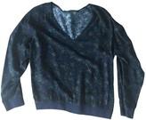 Comptoir des Cotonniers Blue Cotton Top for Women