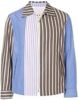 Marni pinstriped shirt jacket