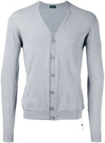 Zanone V-neck cardigan - men - Cotton - M
