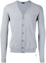 Zanone V-neck cardigan - men - Cotton - S