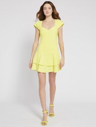 Alice + Olivia Brinda Ruffle Mini Dress
