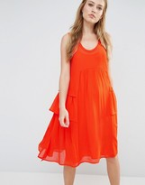French Connection Rosie Tiered Midi Dress