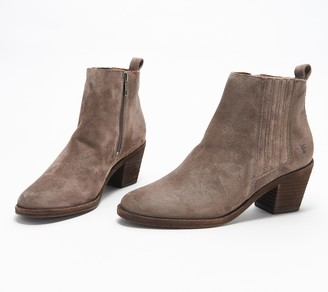 Frye Leather or Suede Gored Ankle Boots - Alton Chelsea