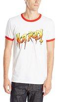 WWE Men's Hot Rod Ringer Logo T-Shirt