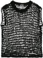 Ann Demeulemeester open-knit vest top