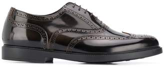 Fratelli Rossetti brogue detailing lace-up shoes