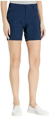 Columbia Coral Point III Shorts (Collegiate Navy) Women's Shorts