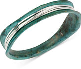 Robert Lee Morris Soho Silver-Tone Wire-Wrapped Patina Bracelet