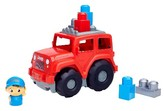Mega Bloks First Builders Jeep Lil' Wrangler Vehicle