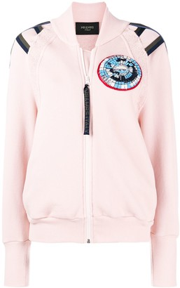 Mr & Mrs Italy patched bomber jacket