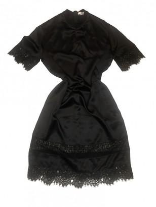 Givenchy Black Silk Dresses