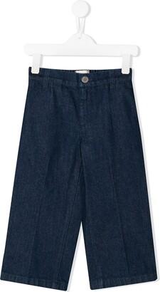 Gucci Kids Striped Jeans