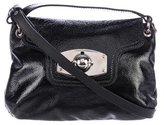 Furla Glazed Leather Crossbody Bag