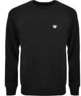 True Religion Crew Neck Sweatshirt Black