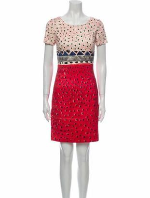 Oscar de la Renta 2013 Mini Dress