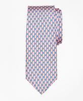 Brooks Brothers Flag Link Print Tie