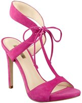 GUESS Alexes T-Strap Tie Heels