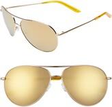 Nike Chance 61mm Mirrored Aviator Sunglasses