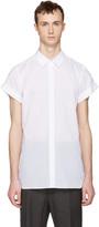 Ann Demeulemeester White Button Shirt