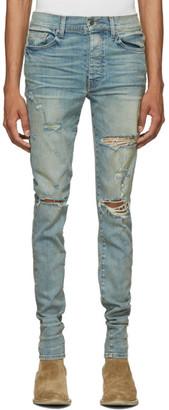 Amiri Indigo Thrasher Classic Jeans