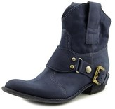 Janet & Janet 25155 Round Toe Leather Western Boot.