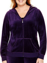 Made For Life Velour Hoodie - Plus