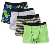 Class Club Big Boys 8-20 4-Pack Boxer Briefs
