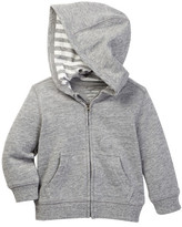 Joe Fresh Melanged Kangaroo Hoodie (Baby Boys)