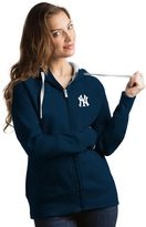 Antigua Women's New York Yankees Victory Full-Zip Hoodie
