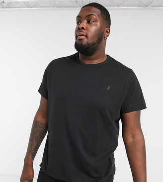 French Connection Essentials Plus t-shirt in black