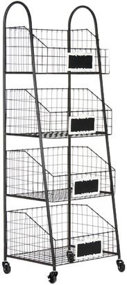 Zentique Rafael Basket Storage Cart