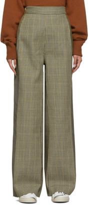 Ports 1961 Grey Houndstooth Contrast Trousers