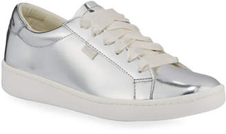 Keds Ace Metallic Leather Tennis Shoes