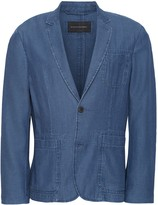 Banana Republic JAPAN EXCLUSIVE Slim Chambray Blazer