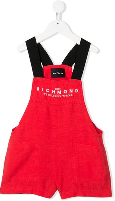 John Richmond Junior Color-Block Dungarees