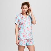 bride and beauties by BedHead Pajamas Bride & Beauties® by Bedhead Pajamas® Women's Notch Collar Classic Cabbage Rose Shorty Pajama Set