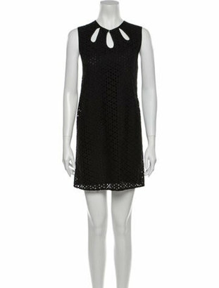 Jenni Kayne Crew Neck Mini Dress Black