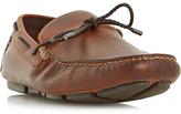 Dune Barnacle Leather Driving Loafers, Leather