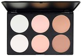 Makeup Contour Kit, 6 Colours Professional Face Sculpting, Highlight Camouflage Concealing and Bronzing Powder Palette