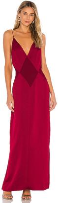 L'Academie The Joelle Maxi Dress
